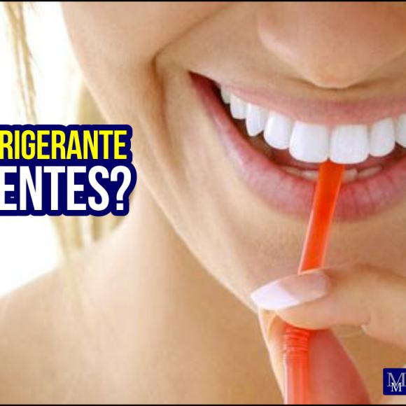 Tomar Refrigerante escurece os dentes?